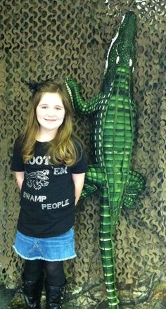 Photo booth Remi with gator