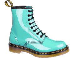 Turquoise Doc Martens holy shit where can I buy these