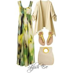 Stylish Eve Outfits 2013: Summer Beach Maxi Dresses Inspired by Paula Hermanny