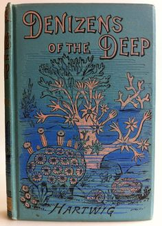 Denizens of the Deep by Dr. G. Hartwig | Beautiful Antique Books