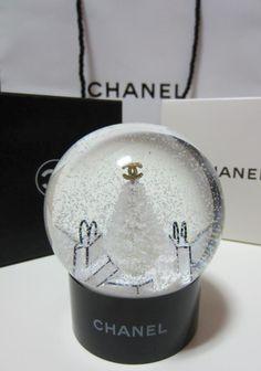 3d26b67b75a4 Chanel CHRISTMAS SNOWBALL Christmas Snow Globes