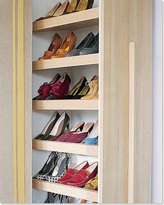 How To Build A Stylish Shoe Rack For Your Closet