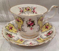 English Vintage ROYAL ALBERT Fine Bone China Tea by CupsAndRoses