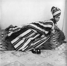 Malick Sidibe, studio portrait 1969