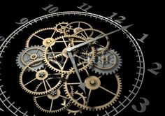 Clock Cogs and Wheels Chat Steampunk, Style Steampunk, Steampunk Lamp, Clock Art, Clock Decor, Wall Clocks, Gear Clock, Watch Gears, How To Make Wall Clock