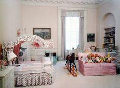 Caroline's White House Bedroom