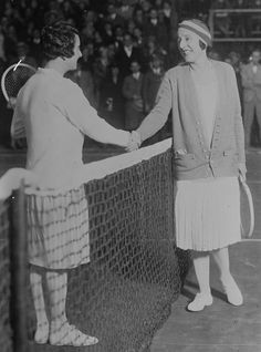 Suzanne Lenglen and Mary Browne - Suzanne Lenglen — Wikipédia