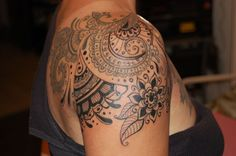 mendhi tattoo sleeve - Google Search