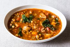 Lentil and Sausage Soup with Kale Recipe | Food Recipes - Yahoo Shine