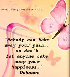 Happiness quote via www.IamPoopsie.com