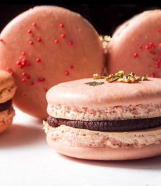 I love watching people stare at macarons in shops like Pierre Hermé and Ladurée in Paris and Chantal Guillon and Miette in San Francisco. The little sandwich...