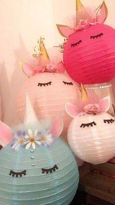 Unicorn Cake Smash Decorations