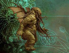 The Others: 7 Sins Board Game Art by adrian smith Cthulhu Art, Call Of Cthulhu, Adrian Smith, Dark Evil, 7 Sins, Sci Fi Fantasy, Horror Art, Dark Art, Board Games