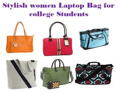 without Fashion & style, we can't run a single day. so why not college student? when they choose a laptop bag for college, should buy a stylish one. Bags For College Students, Laptop Bag For Women, Stylish, Stuff To Buy, Fashion, Moda, Fashion Styles, Fashion Illustrations