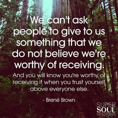 Brene Brown Quote about Self-Worth