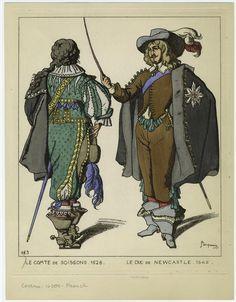 1625 paris costume - Google Search