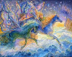 """Race You to Fairyland"" by Josephine Wall"