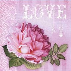 Papel-Decoupage-Adesiva-10x10cm-Love-DAX-071---Litoarte