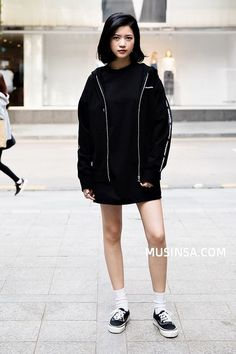 Korean Street Fashion- May 2017  In streets of SEOUL