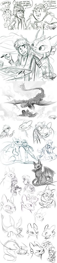 Httyd Stuff (spoilers) by sharpie91