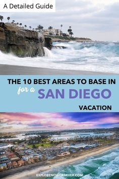 Looking for a great getaway close to home? Be a tourist in your own town with these inspired ideas. Read more here.San Diego travel tips | San Diego staycations | Southern California travel California Attractions, California Travel Guide, Southern California, Mission Bay San Diego, San Diego Vacation, Coronado Island, Mission Beach, Unique Hotels, Where To Go