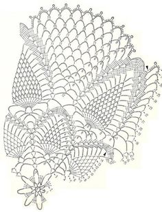 Crochet Art: Crochet Pattern Of Gorgeous lace Doily