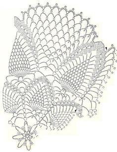 Crochet Art: Crochet Pattern Of Gorgeous lace Doily