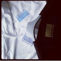 Un volta il retro era così.... #tshirt #tee #saettastyle #codiceabarre