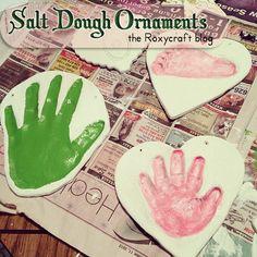 Salt Dough Ornaments via Roxycraft