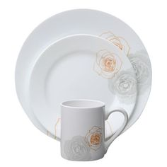 DescriptionCorelle Vitrelle glass dinnerware... The original break and chip resistant g...
