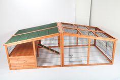 point-zoo Hasenstall Kaninchenstall Kleintierstall Stall Freigehege XXL, NEU | Casa, arredamento e bricolage, Articoli per animali, Piccoli animali | eBay!