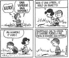 Linus e la vipera