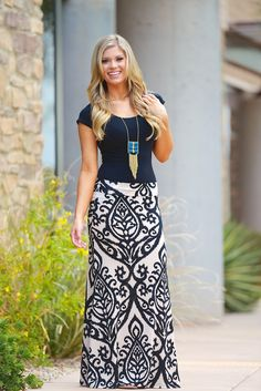 Like A Love Song Maxi Skirt - Taupe