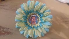 Tiana flower clip