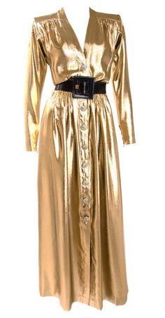 Dress Yves Saint Laurent, 1980s