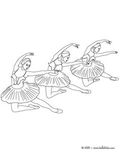 ballet coloring pages on hellokids - photo#4