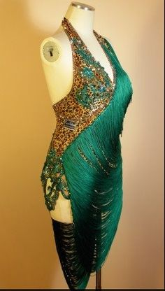 Ballroom Dress. I love the colors & the mixed in patterns & textures