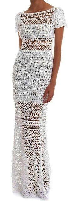 Summer drees, wedding dress , gift ideas ,handmade, crochet drees ,bridal…