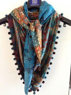 Dubbelzijdige sjaal Indonesië