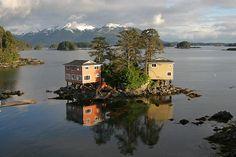 Sitka, Alaska...my favorite Alaskan city