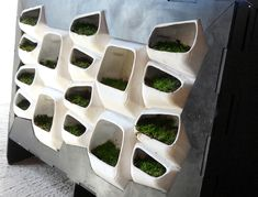 Moss Voltaics is a clean, green, energy-producing machine that mounts to the wall