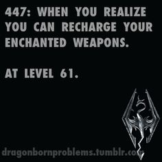 I kind of realized it by level 19. :P I was wondering how I get the enchantment back after awhile.