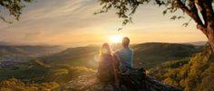 Geschäftsbericht, EBL (Genossenschaft Elektra Baselland) Basel, Celestial, Mountains, Sunset, Nature, Outdoor, Communication, Concept, Projects