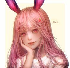 E Image - Zerochan Anime Image Board Manga Girl, Anime Art Girl, Neko, 5 Anime, Wow Art, Digital Art Girl, Beautiful Anime Girl, Realistic Drawings, Girls Characters