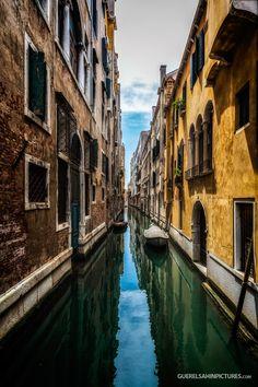 Photograph The Canal by guerel sahin on 500px