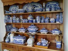 spode blue italian ,my everyday china