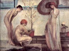 Giovanni Segantini, l'ange de la vie, 1894, Milan