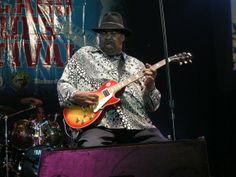 Magic Slim and the Teardrops - Magic Slim was a late-bloomer – he took a while to make it to the top. But the son of North Mississippi sharecroppers and protege of Magic Sam is a Chicago legend now. For decades you would see him every night at the North Side Blues clubs.