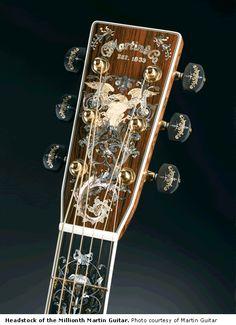 Martin Guitar Headstock