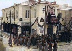 Plac Wolności 1917 Polish Government, Polish People, Warsaw, Poland, Historia, Fotografia, Polish Language